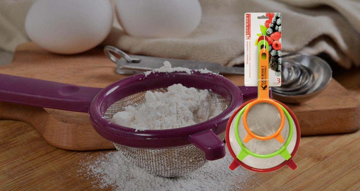 Modern Houseware Strainer Set